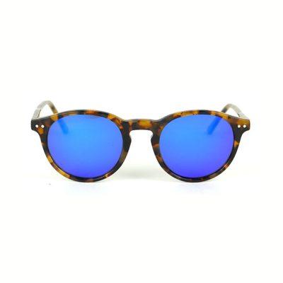 Binocle – California – Ecaille Brun- Verres Bleu